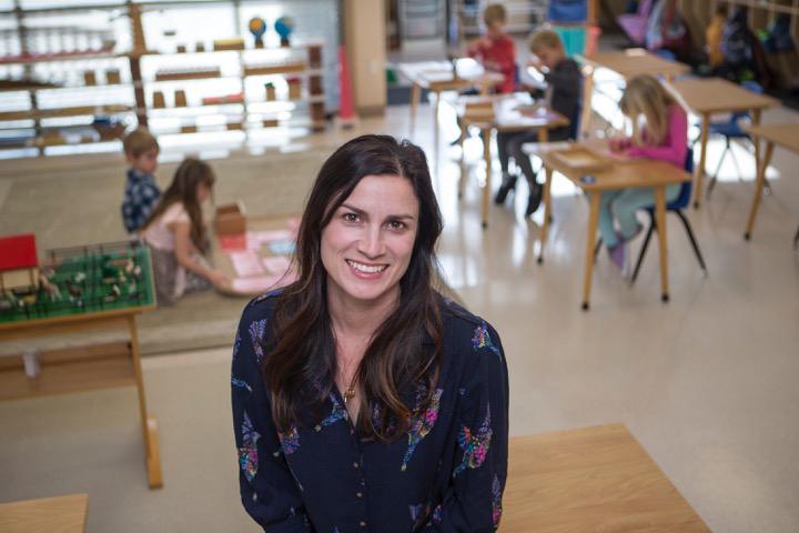 Imagen de la candidata a la junta escolar Megan Norris